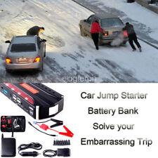 Coche Jump Starter Arrancador Arranque Cargador de Batería Power Bank