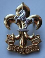 British Army, The King's (Liverpool & Manchester) Regiment Cap Badge. FIRMIN