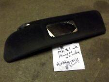 Sunvisor, l/h, 1-piece with mirror, Mazda MX-5 Eunos MX5 mk1 left hand sun visor