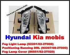 Genuine Fog Light Lamp+Positioning Running DRL+Cover 6p for kia K5;Optima 11~13