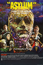 Asylum (2) - Amicus - Peter Cushing - A4 Laminated Movie Mini Poster