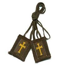 Crusader Cross Scapular & Rosary + Medals + Holy Cards + Green Scapular + Jesus