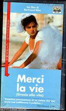MERCI LA VIE  (1991)  VHS Columbia Pct.  BERTRAND BLIER - NEW cellofanata