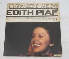 EDITH PIAF ISRAEL ORIGINAL LP Les Grandes Chansons RARE ISRAELI PRESSING