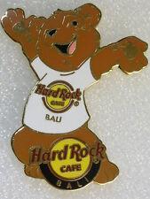 BALI,Hard Rock Cafe Pin,White T-Shirt Series
