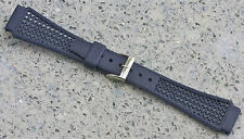 LAST 2! Blue 22mm Tropic watch band type nylon Golay Swiss 1960s/70s NOS 17 sold