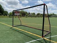 Vallerta®12 X 6 Ft.Youth Regulation Size PVC Soccer Goal w/ Carry Bag(Black/Red)