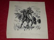 [DESSIN PRESSE BD] MAR.THIERRY JOURNAL DES VOYAGES Art Cover N°130 1948 ORIGINAL