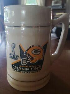 Greenbay Packers Superbowl Beer Mug