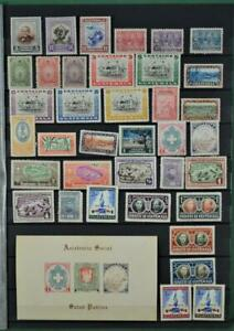 GUATEMALA STAMPS SELECTION ON 2 SIDES OF STOCK CARD   (F93)