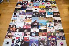 """7"""" Vinyl Singles Joblot Collection / 70s 80s 90s Classic Vintage 45 RPM Bundle"""