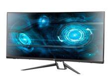 "Monoprice 35"" Zero-G Curved Ultrawide UWQHD Gaming Monitor FreeSync 21:9 1440p"