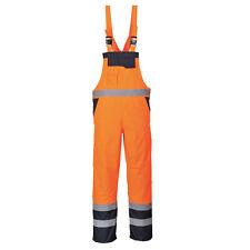 Portwest Hombre Contraste Babero y - Sin Forro ropa de trabajo multicolor s488