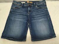 Kut From The Kloth Catherine Boyfriend Womens Jean Shorts Medium Wash Size 6