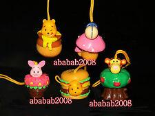 Yujin Winnie the Pooh figure cosplay Plant strap gashapon (full set 5 pcs)
