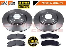FOR MITSUBISHI OUTLANDER 2.0 2.2 2.4 Di-D FRONT BRAKE DISCS AND PADS SET 2007-