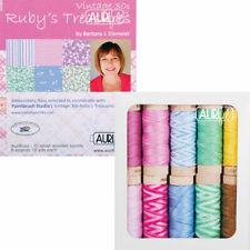 Moda AURIFIL FLOSS - RUBY'S TREASURE Vintage 30's 10 SPOOLS 18 yd ea 6 strands