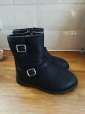 Girls Infant Black Ugg Boots Size 8