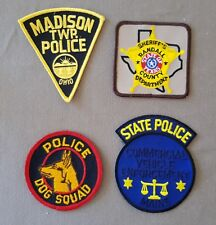 USA - 4 x Different Police Patches #13