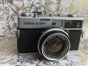Olympus 35 SP EX++ Camera Fully Functional CLA'd New Light Seals