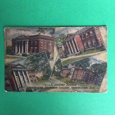 Campus Scenes Birmingham Southern College Alabana Posted Postcard