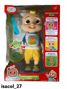 Cocomelon DELUXE INTERACTIVE JJ DOLL Free Expedited Shipping Rare QUIET SONGS!