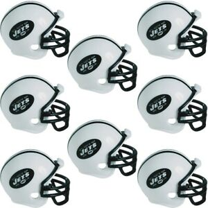 New York Jets Helmets 8ct party pack riddell cake toppers new