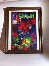 Spawn #1 (1991) Sealed and Framed!
