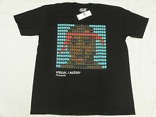 $30 NWT Mens Rocksmith T-Shirt Pactone Tee Black Urban *Made In USA* Size S M784