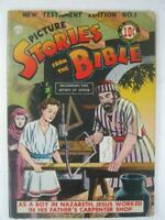 DC Comics Picture Stories From The Bible New Testament No.1 1944 (VG)