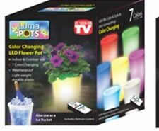 Luma Pots 01660 Color Changing LED Flower Pot with Remote, As Seen On TV,