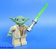 LEGO FIGURINE STAR WARS 75002 / YODA AVEC SABRE LASER