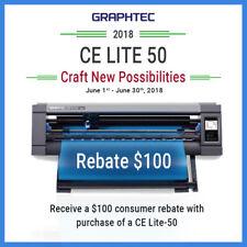 GRAPHTEC CE LITE-50 (20 INCH) DESKTOP VINYL CUTTER