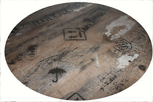HPL Kompakt Tischplatte Werzalit 70 cm rund Ex Works wetterfest Ersatz Bist 122c