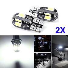 2x Canbus Error Free T10 White 8 5630 SMD LED Car Side Wedge Light Lamp Buld LL