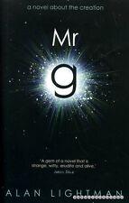Lightman, Alan MR G : A NOVEL ABOUT THE CREATION Hardback BOOK