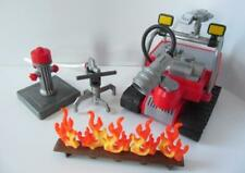 Playmobil City/Fireman/Rescue extras: Flames, fire vehicle, hydrant & hose NEW
