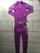 Billabong Ladies Purple Sports Fitness Outfit Size S / XS. Good Condition.