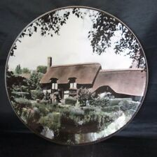 Anne Hathaway's Cottage Shottery Collector Plate Tc1027 Royal Doulton
