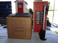 Lionel Postwar 125 Whistle Station & 151 Semaphore in Original Boxes