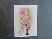 1997 GRENADA ORCHIDS OF THE WORLD 6 STAMP MINI SHEET MNH #2