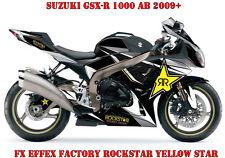FX Factory DECORO GRAPHIC KIT SUZUKI GSX-R 600/750/1000/1300 Rockstar YELL Star.