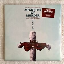 MEMORIES OF MURDER Taro Iwashiro OST Vinyl 2LP Limited Edition of 1000 Units OOP
