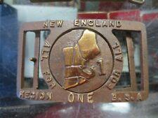 Region 1, 1955, Max Silber New England Boy Scouts of America Belt Buckle