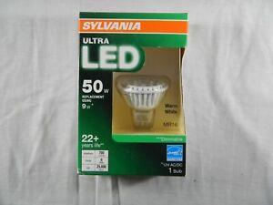 SYLVANIA Ultra LED Light Bulb dimmable 9W Replacing 50W Halogen MR16 LED GU5.3