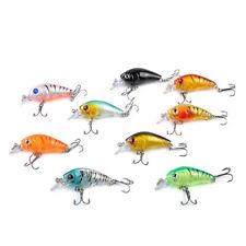 Wholesale Lot 5Pcs Plastic Fishing Lures Bass CrankBait Crank Bait Tackle 4.5cm