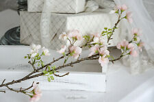 Zweig Apfelblüte Kunstblume Frühlingsdeko Ostern Shabby Chic