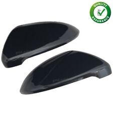 GMD Metallic Gloss Black Mirror Covers L&R - Fits VW Golf Mk7 & 7.5 R GTI GTD