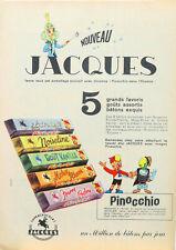 Publicité papier Chocolat Jacques Pinocchio 1966 26 P1015473