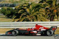 "Controlador F1 controlador de prueba de fórmula uno Roman Rusinov foto firmada de mano 12x8"" AA"